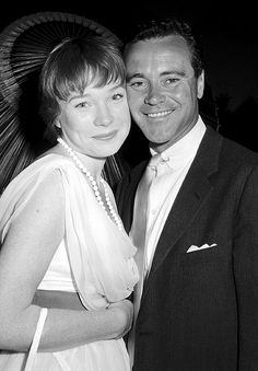 ... :Shirley MacLaine and Jack Lemmon at the Hollywood Bowl, June 1960