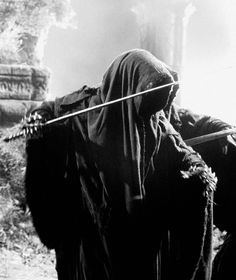 Day 8: Favorite Costume.  Nazgul.  I love their outfits and especially mixed with the horses they ride in FOTR.  So creepy and awesome.