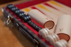 Backgammon Board..Decor inside the #LouisVuitton Villa in Basel for #BaselWorld