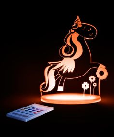 Take a look at the Unicorn LED Night-Light on #zulily today!