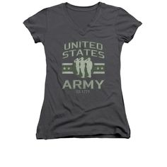Zombie Shirt Juniors V Neck You First Charcoal Tee T-Shirt Officially Licensed Available in Small, Medium, Large, XL & Our Unique Zombie shirt are perfect for everyone. Zombie Shirt, Halloween Shirt, Army Shirts, Shirt Style, Charcoal, V Neck, T Shirts For Women, Lady, Tees