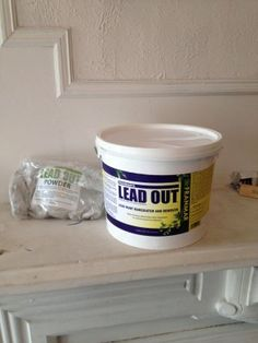 Lead Out-Removing lead paint.