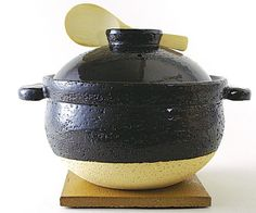 The Kamado-san donabe rice cooker for clay pot cooking ...wedding present list