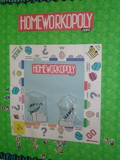 Use this to encourage the kids to remember to bring home all of their homework items each day.