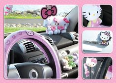 Hello kitty for the car