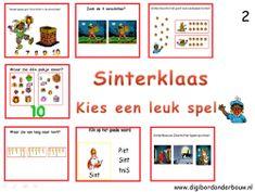 Digibordonderbouw digibordles bestaande uit 7 verschillende spelletjes. Veel taal- en rekenactiviteiten komen aan de orde. http://digibordonderbouw.nl/index.php/themas/sinterklaas/groep2/viewcategory/354