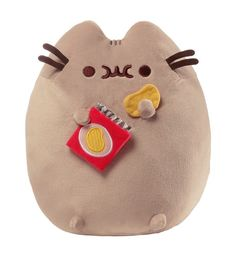Pusheen and Chips