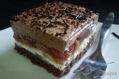 Donauwellen LECKERE Muffins Czech Recipes, Ethnic Recipes, Baking Recipes, Dessert Recipes, Romanian Food, 3d Cakes, Freezer Meals, Sweet Tooth, Sweet Treats