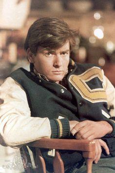 Still of Charlie Sheen in Invazia rosie (1984)
