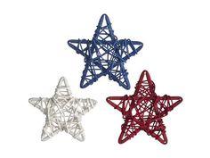 Americana Rattan Stars Set