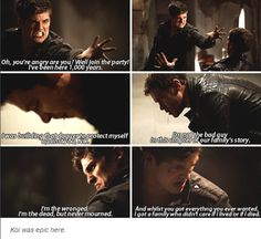 I am not a fan of Kol, but I can understand, why he feels his family does not care about him.