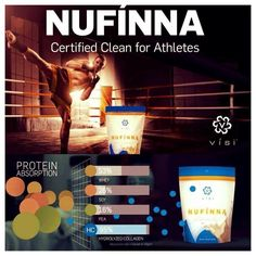 My Secret Weapon to looking Energetic, FIT and Healthy: Nufinna Hydrolyzed Collagen protein- the highest absorption rate there is!!  Don't settle for Cheap protein!  This is Amazing to improve muscle tone, lose weight and for anti-aging for the skin!!