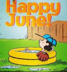 Happy June! Via www.Facebook.com/Snoopy