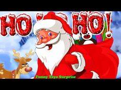 Show The Spirit of Christmas Songs Snow Jingle Bells Deck the Halls Santa Claus Animation Cartoon - YouTube