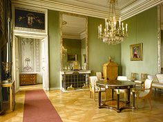 Nymphenburg Palace Interiors -  Queen's Study