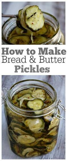 How to Make Bread an How to Make Bread and Butter Pickles : one...  How to Make Bread an How to Make Bread and Butter Pickles : one of the most popular recipes of all time on Recipegirl.com Recipe : ift.tt/1hGiZgA And My Pinteresting Life | Recipes, Desserts, DIY, Healthy snacks, Cooking tips, Clean eating, ,home dec  ift.tt/2v8iUYW