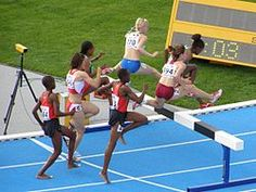 Steeplechase (athletics) - Wikipedia, the free encyclopedia, and we call it #Hurdles