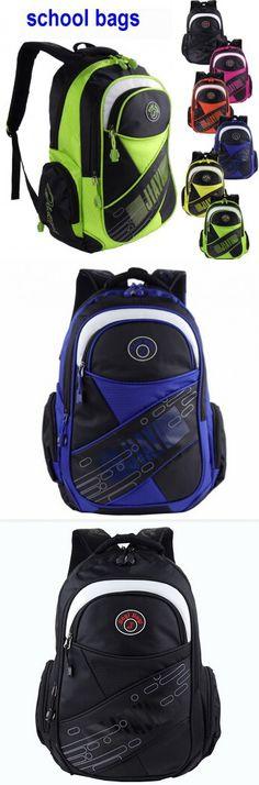 2016 New Children school bags children /men backpacks kids school bag Leisure waterproof bag Double shoulder bag 6 colors SH722A