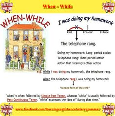 when while differences - learning English