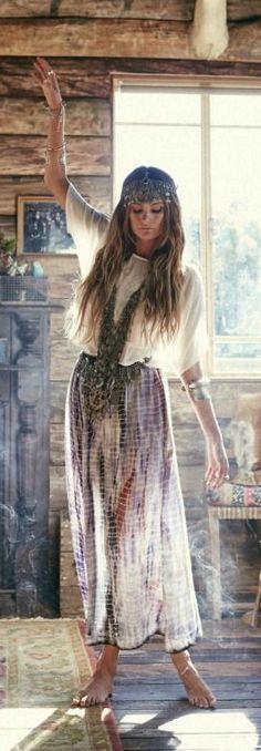 Bohemian spirit #hippiechic #boho Más