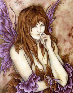 Amy Brown Rhiannon II Fairy Print