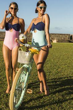 Bonaire Swimsuit - Blue