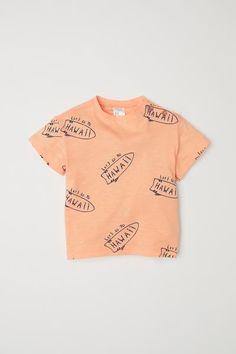 48903f57f468f9 Cotton T-shirt - Light orange Hawaii - Kids