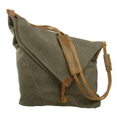 a6b7d260bb45a Nordlicht Tasche Damen Schultertasche Canvas Messenger Bag Umhängetasche