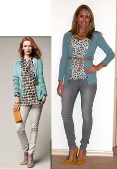 TONS of outfit ideas - from the magazines to you! :)