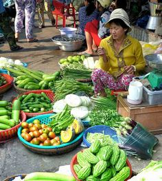 Food & markets in the Mekong Delta