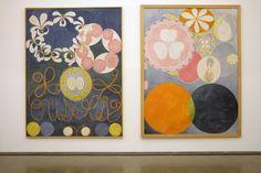 Hilma Af Klint: Painting the Unseen Installation View  5, Swedish artist Hilma af Klint (1862-1944)