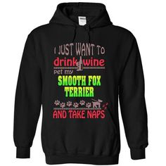 SMOOTH FOX TERRIER - #tee outfit #tee time. HURRY => https://www.sunfrog.com/Pets/SMOOTH-FOX-TERRIER-7752-Black-17869811-Hoodie.html?68278