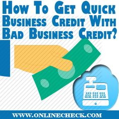 Bad Credit Business LoansOnline business loans from private lenders have opened a completely different era of financing. Today it's the company that's the customer and a constant stream of income is what determines a borrower's general eligibility for financing; not really a FICO score. #badcreditbusinessloans