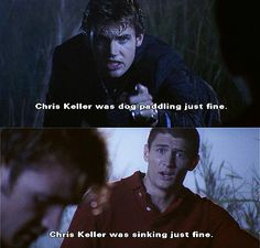 The moment when Nathan punches Chris Keller was my favorite moment, not just in the history of One Tree Hill, but in the history of ever.