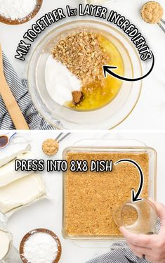 Instead of pumpkin pie this fall (or Thanksgiving!), try this easy pumpkin delight dessert recipe instead! A homemade pecan and graham cracker mix forms a delicious crust that is topped with three layers of light and fluffy filling -- including cream cheese, pumpkin, pudding and Cool Whip. Pumpkin Delight Dessert Recipe, Pumpkin Trifle, Pumpkin Cheesecake Recipes, Pumpkin Dessert, Pumpkin Pudding, Pumpkin Recipes, Pumpkin Cream Cheeses, Cheese Pumpkin, Bakery Recipes
