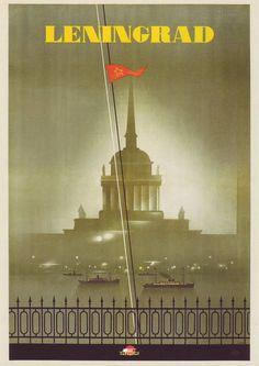 Soviet Art Deco. Leningrad