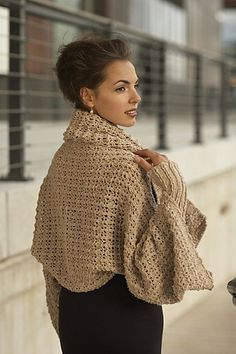 Ravelry: Lacy Rib Shawl pattern by Linda Marveng.  Model: Francesca Golfetto Hair & make up stylist: Line Sekkingstad Photo: Kim Müller