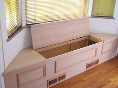 Built ins on pinterest window benches window seats and bay window