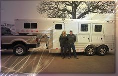 Thank you and congratulations to Colleen Whiteman on her new 4-Star 2H Slant she purchased from Dan Irey at Wayne Hodges Trailer Sales!! (800) 994-6343