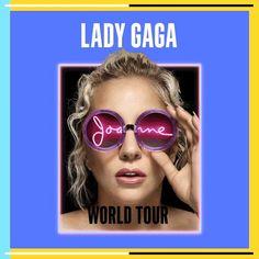 レディーガガ ワールドツアーの日程を発表