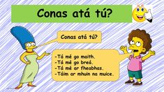 Mé féin & mo theaghlach – Mash.ie #mashdotie #irishlanguage #primary #teacherresurces Poem Titles, Gaelic Words, Irish Language, Sentence Structure, Speed Dating, My Face Book, The Simpsons, Primary School, Grammar