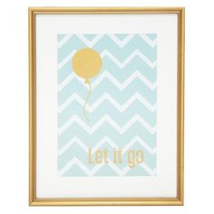 """Let It Go' Framed Wall Art for sale on Trade Me, New Zealand's auction and classifieds website Framed Wall Art, Framed Prints, Wall Art For Sale, Girl Nursery, Nursery Ideas, Interior Walls, Artwork Prints, Letting Go, Home Accessories"