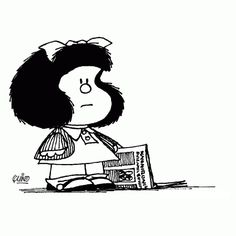 Coloriage Dessins. Mafalda 11
