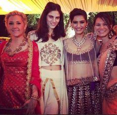 Celebrity Wedding Spotting: Sonam Kapoor