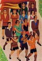 'De A.J.C.-ers' (1928) - oil on canvas