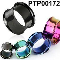 Nádherný a velice populární tunel do ucha PTP00172 vyrobený z chirurgické oceli 316l. Je dostupný v různých barevných provedenách. http://www.piercingate.cz/tunel-do-ucha-anodizovany-ptp00172