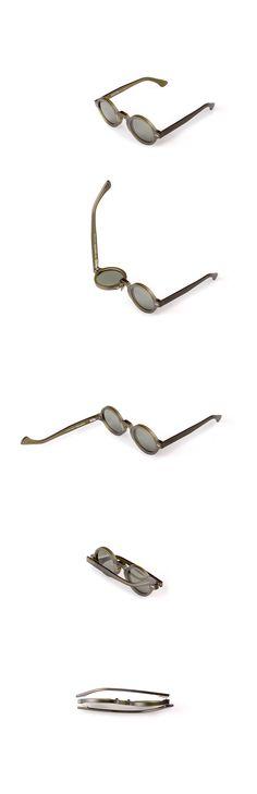 Movitra 215 - Cristallo verde con lente verde #sunglasses #movitra #movitraspectacles #spectacles #glasses #eyewear