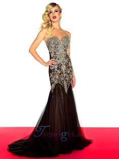 2013 Allure Evening Dresses Sheath / Column Floor-length Sweetheart Neck $229.99 - Trendget.com