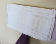 Simplify Your Mop: Save money by making a DIY reusable wet jet pad out of a cloth diaper. #UniversalTrim