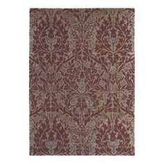Shop for Rugs at Style Library: Autumn Flowers (Colour: Eggshell) by Morris & Co. Antique and luxurious in feel the Autumn Flowers rug is hand tufted in pu. Plum Rug, Bedroom Flooring, Bedroom Furniture, Made To Measure Curtains, Curtain Designs, Arts And Crafts Movement, Fall Flowers, Modern Rugs, Designer Wallpaper